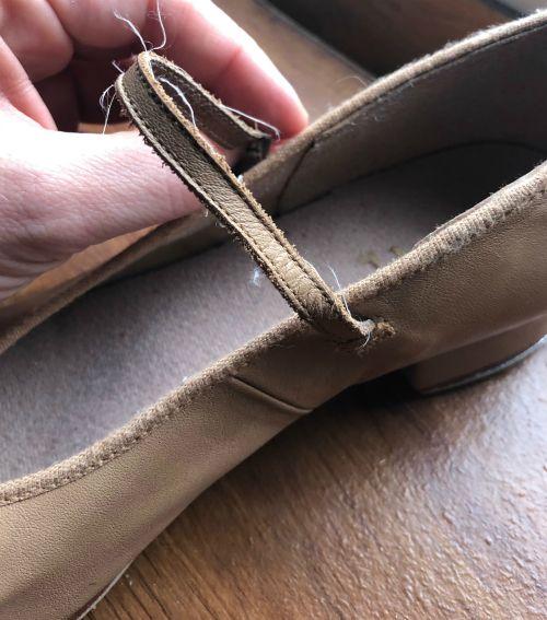 bloch character shoe