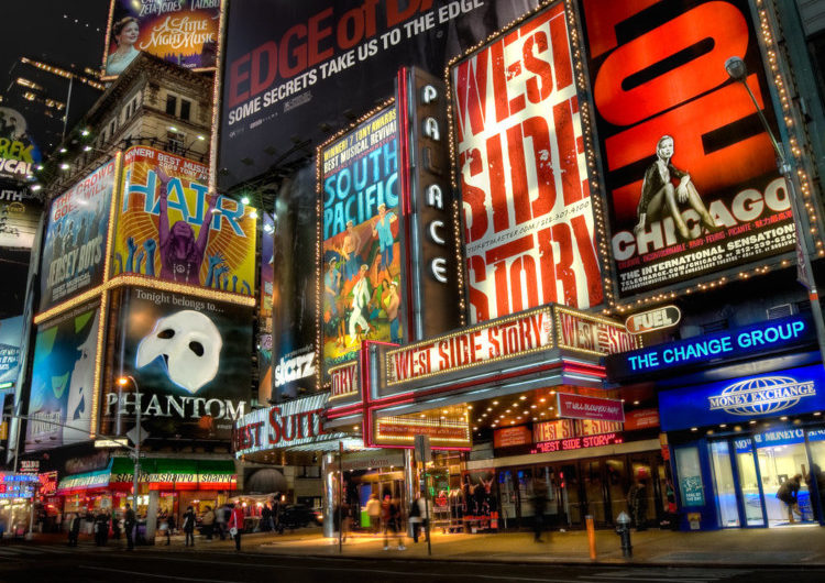 Broadway when you're broke