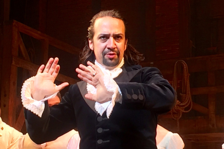 The father of all Hamilton memes, Lin Manuel Miranda