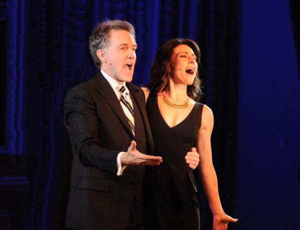 male and female singing a musical theater duet