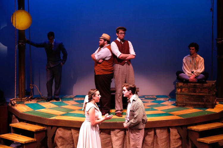 People performing The Fantasticks: one of the best high school musicals