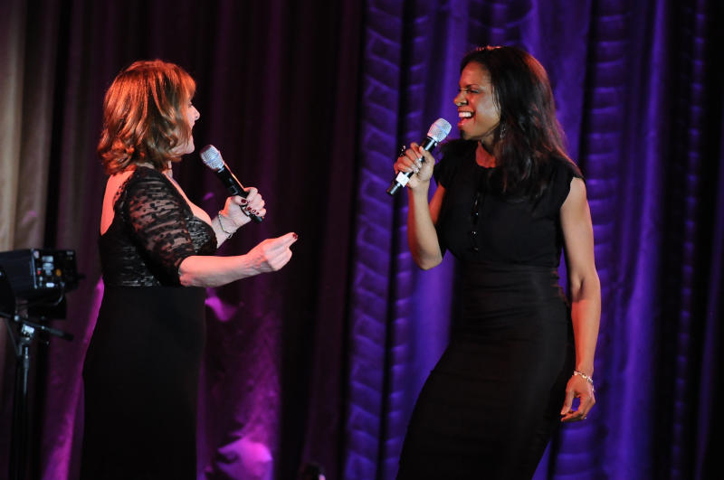 two women singing a musical theater duet